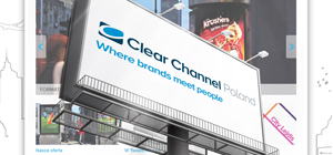 Serwis internetowy ClearChannel Poland